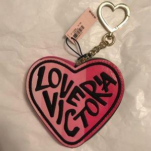 Victoria Secrets keychain/coin purse